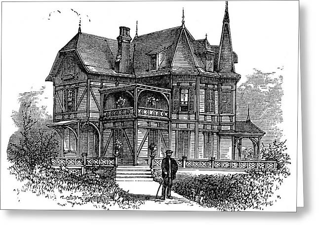 Newport Cottage Greeting Card