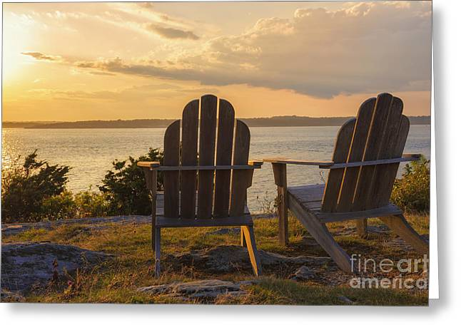 Relax In Newport Greeting Card