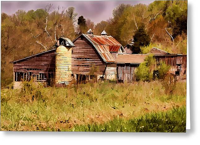 Newton Township Barn Greeting Card