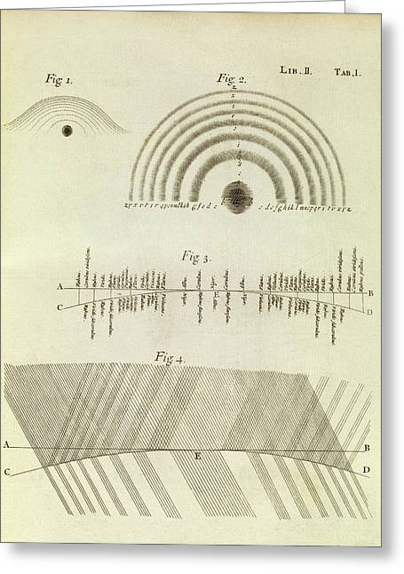 Newton's Optics Greeting Card