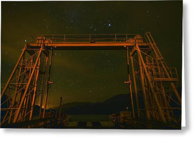 Next Destination Mars At Porteau Cove Provincial Park Bc Greeting Card by Winson Tang