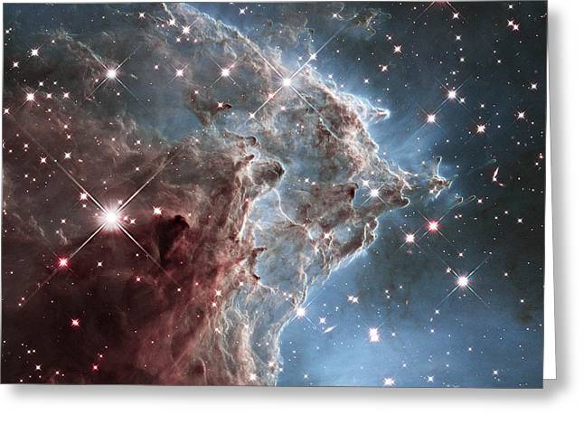 Ngc 2174-nearby Star Factory Greeting Card by Barry Jones