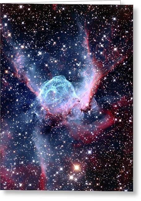 Ngc 2359 Nebular Greeting Card