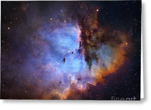Ngc 281 Starbirth Region, Optical Image Greeting Card by Robert Gendler
