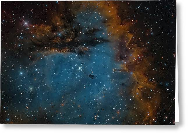 Ngc 281, The Pacman Nebula Greeting Card by Michael Miller