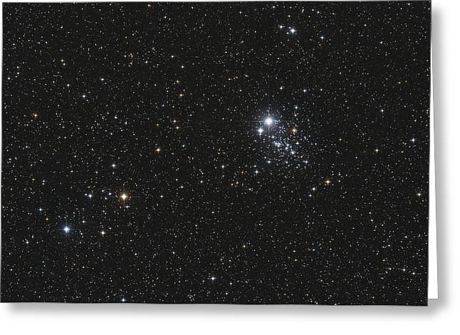 Ngc 457, The Owl Cluster Greeting Card