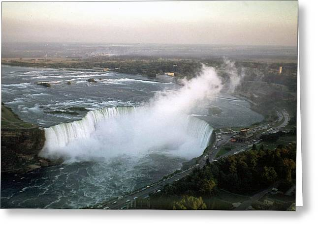 Niagara Falls 1968 Greeting Card
