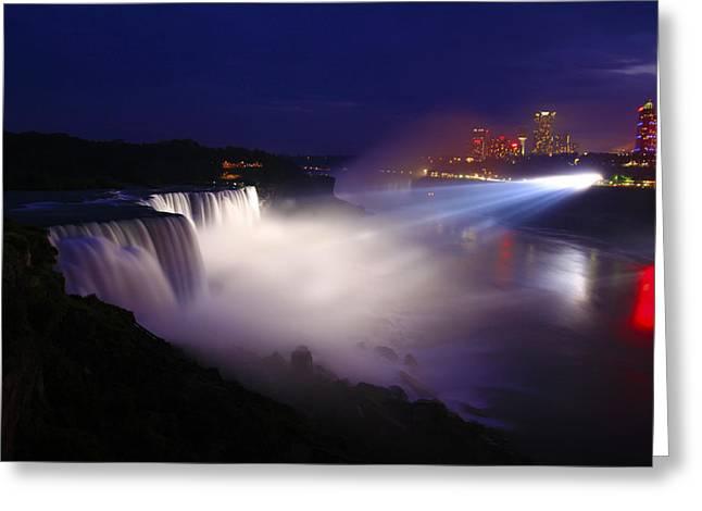 Niagara Falls-american Side Greeting Card