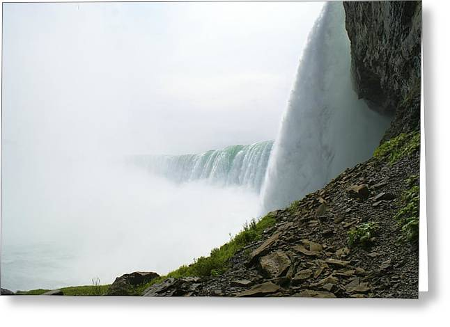Niagara Falls Greeting Card by Andrew Johnson