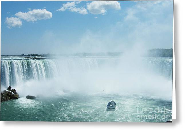 Greeting Card featuring the photograph Niagara Falls In Spring by Phil Banks