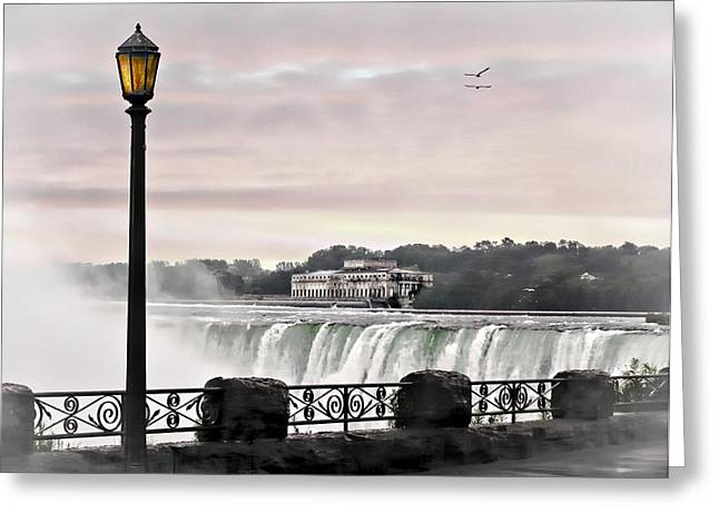 Niagara Falls Greeting Card by Jessica Cirz