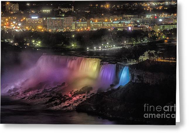 Greeting Card featuring the photograph Niagara Falls by JRP Photography