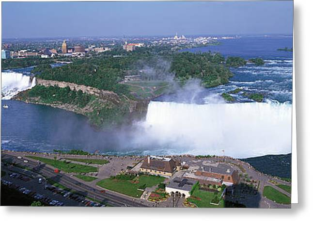 Niagara Falls Ontario Canada Greeting Card by Panoramic Images