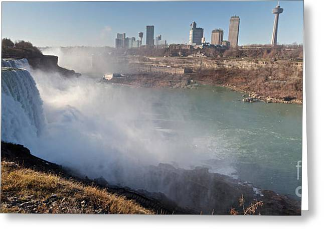 Niagara Falls Panorama Greeting Card
