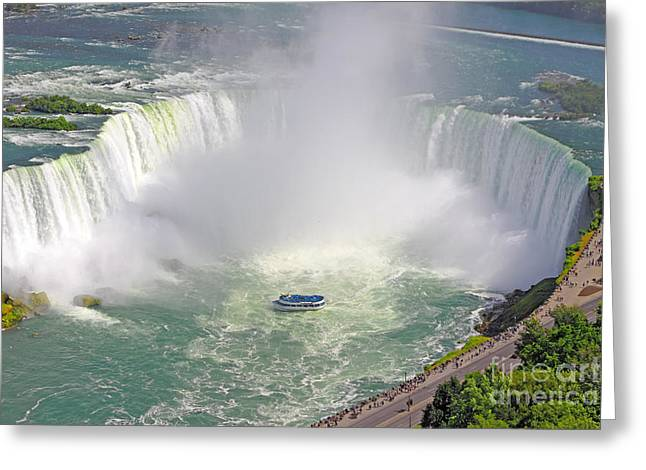 Niagara Falls Summer Greeting Card