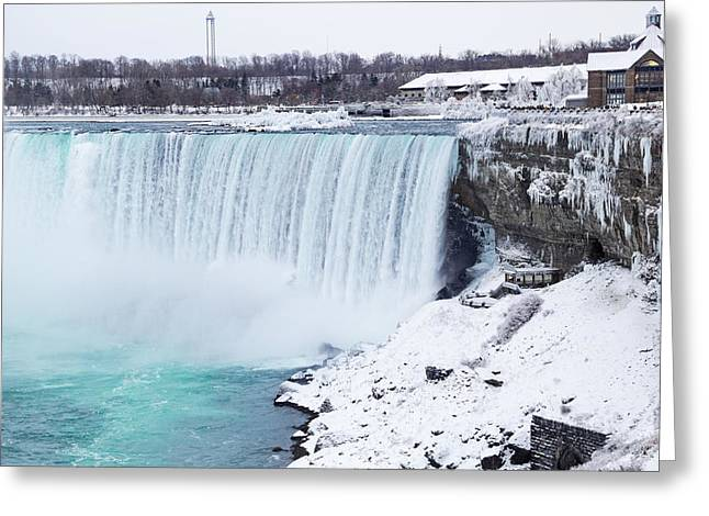 Niagara Falls Winter Greeting Card