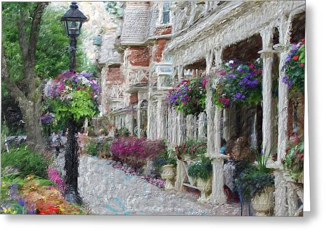 Niagara On The Lake Greeting Card by Melinda Dreyer