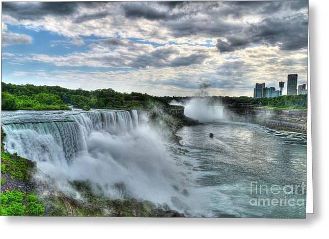 Niagara River Gorge 2 Greeting Card by Mel Steinhauer