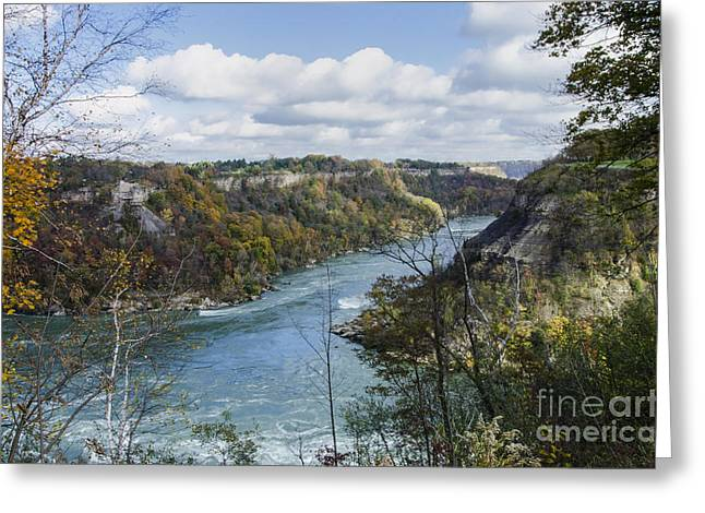Greeting Card featuring the photograph Niagara River by JRP Photography