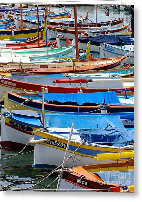 Nice Boats  Greeting Card