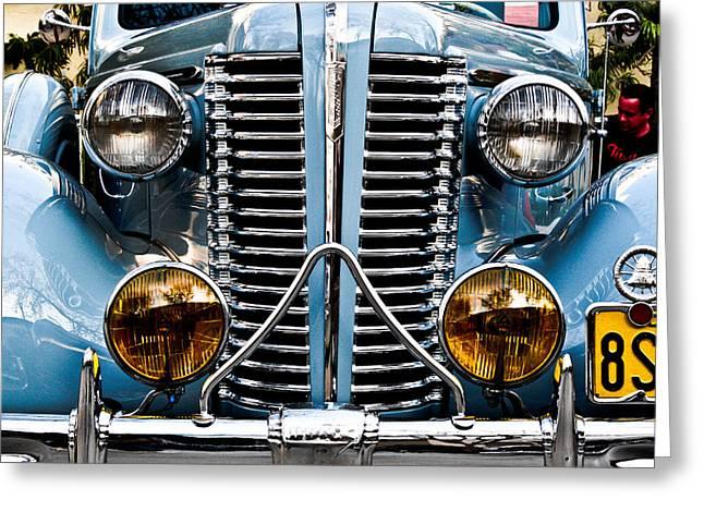 Nice Headlights Greeting Card by Merrick Imagery