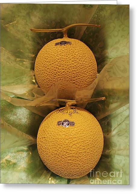 Nice Melons Greeting Card by David Bearden