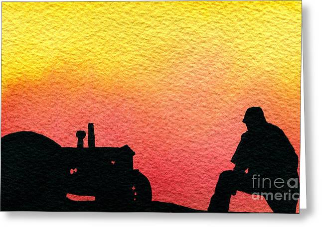 Nice Time Of Day Greeting Card by R Kyllo