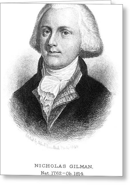Nicholas Gilman (1762-1814) Greeting Card
