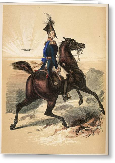 Nicholas I Greeting Card by British Library