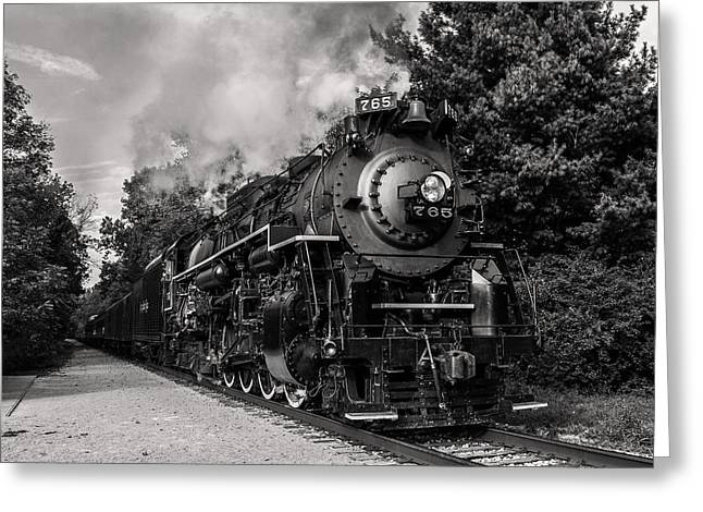 Nickel Plate Berkshire 765 Greeting Card