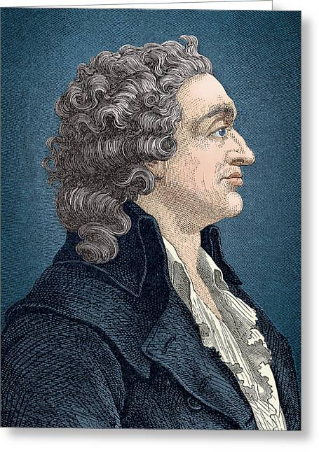 Nicolas De Condorcet, French Greeting Card by Science Source