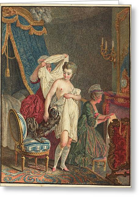 Nicolas Francois Regnault French Greeting Card by Quint Lox