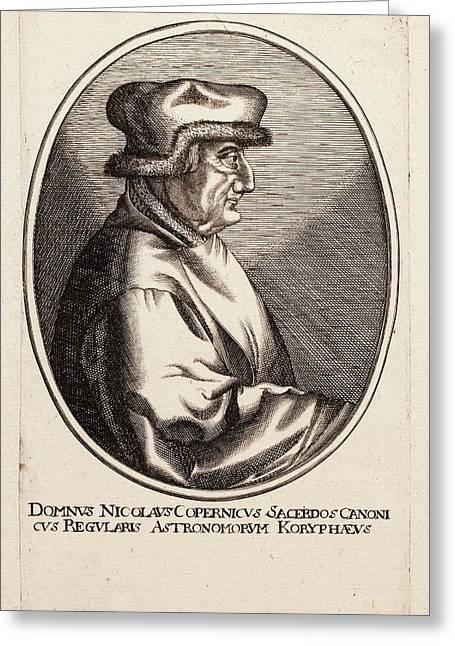 Nicolaus Copernicus Greeting Card