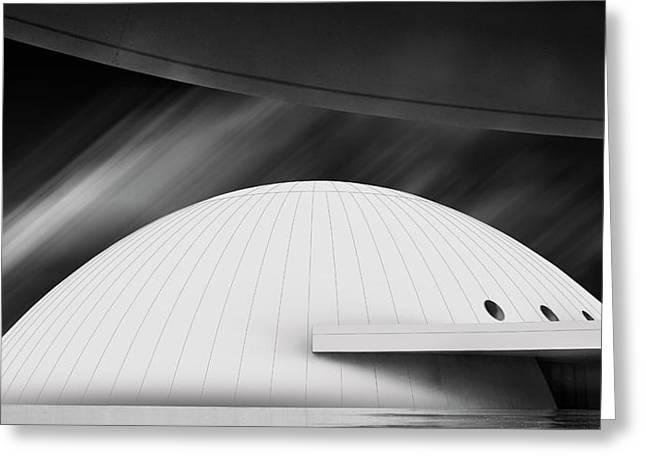 Niemeyer Center (avila?s, Spain) Greeting Card