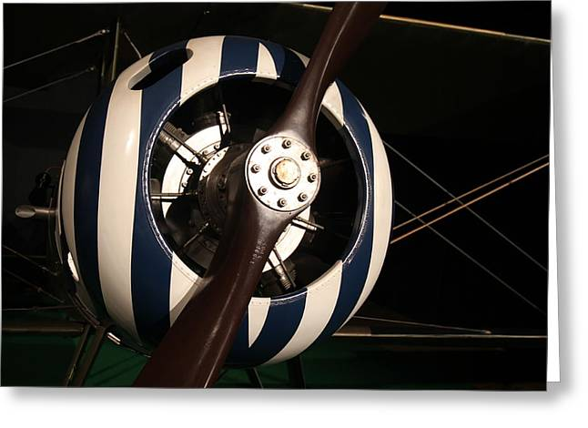 Nieuport 28 No.1 Greeting Card by Guerrin Lyons
