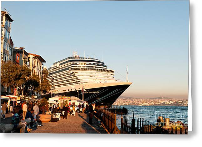Nieuw Amsterdam 01 Greeting Card by Rick Piper Photography