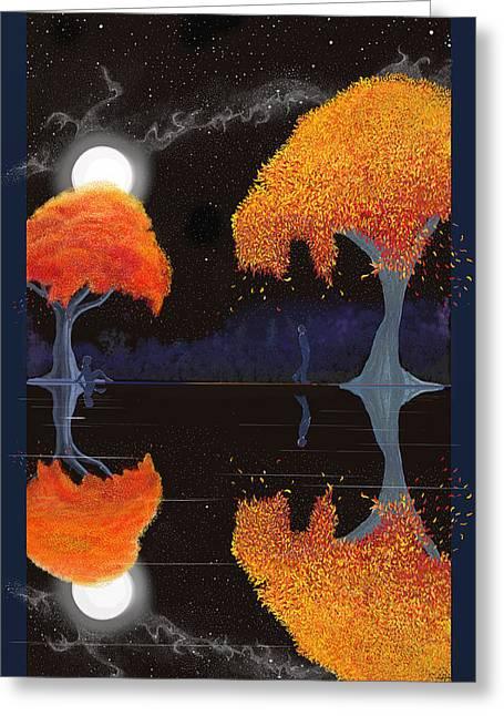 Night Companions  Greeting Card
