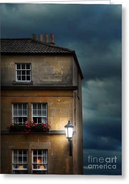Night Flats Greeting Card by Jill Battaglia