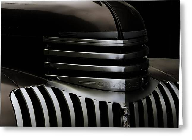 Night Grille Greeting Card by Ken Smith