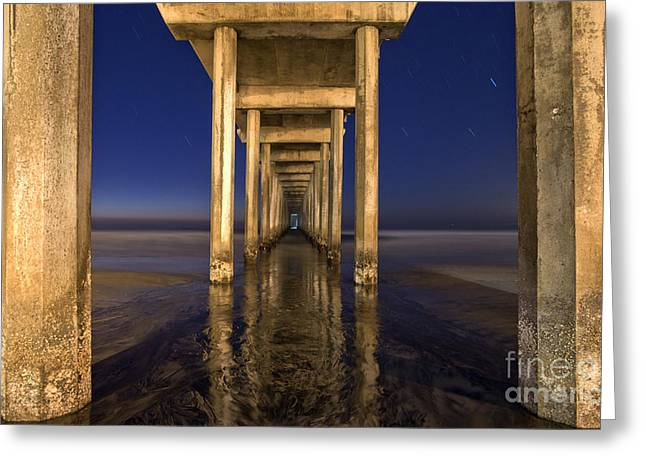 Night Scripps Greeting Card by Marco Crupi