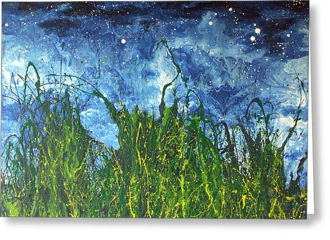 Night Sky 2007 Greeting Card