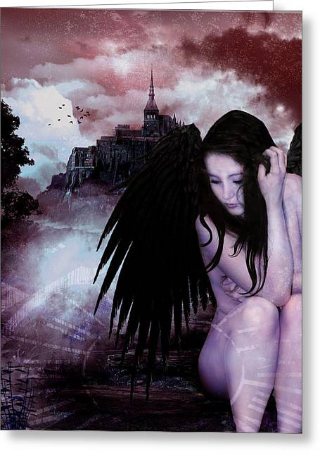 Night Watcher Greeting Card