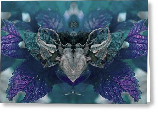 Nightbird Greeting Card