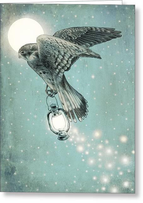 Nighthawk Greeting Card