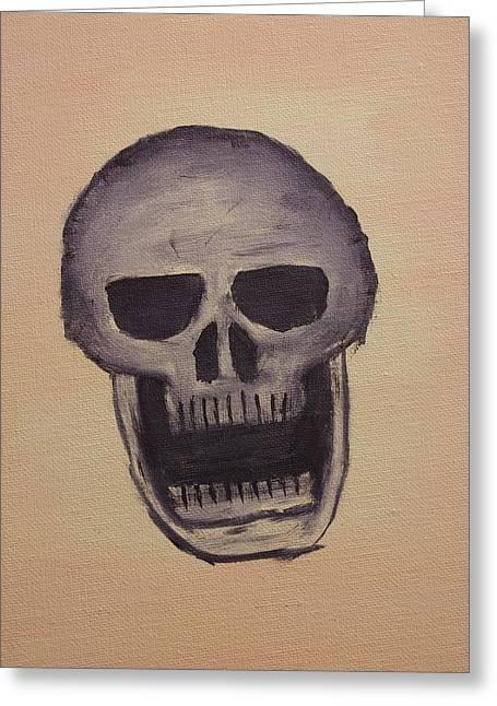 Nightmare Greeting Card by Keith Nichols