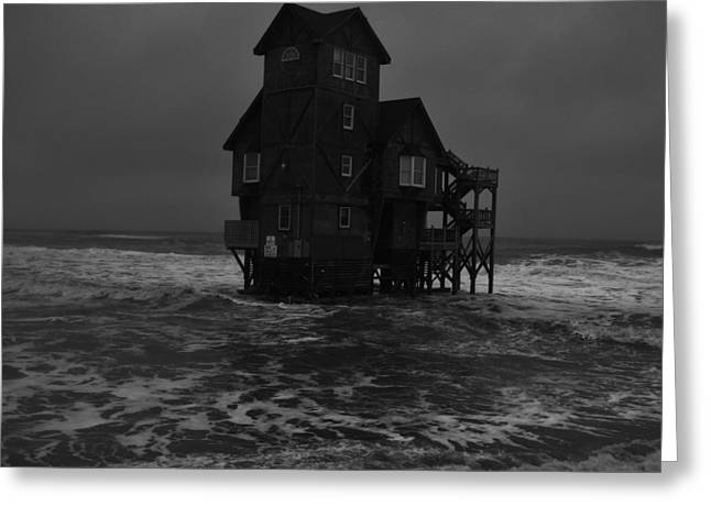 Nights In Rodanthe Movie Serendipity House   Greeting Card by Mark Lemmon