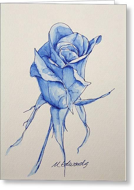 Niki's Rose Greeting Card