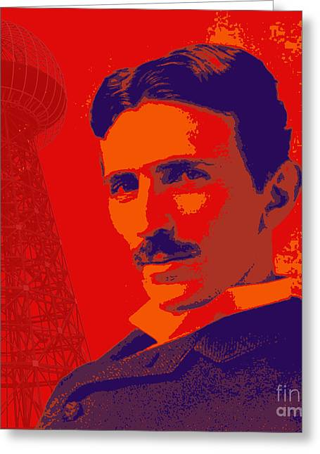 Nikola Tesla #1 Greeting Card