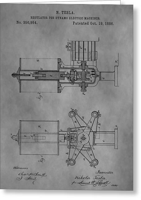 Nikola Tesla's Patent Greeting Card