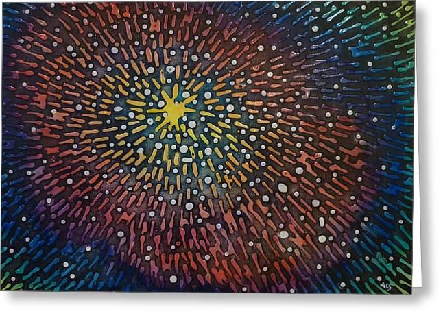 Nimoy Nebula Greeting Card